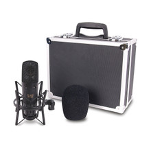 JAMMIN PRO B-20PRO Dual Large Diaphragm Studio Mic $10 Instant Coupon use Promo Code: $10-OFF