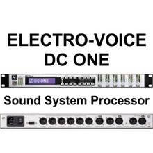 EV DC ONE Rackmount Software Driven Speaker Management Controller Processor Interface $50 Instant Coupon Use Promo Code: $50-OFF