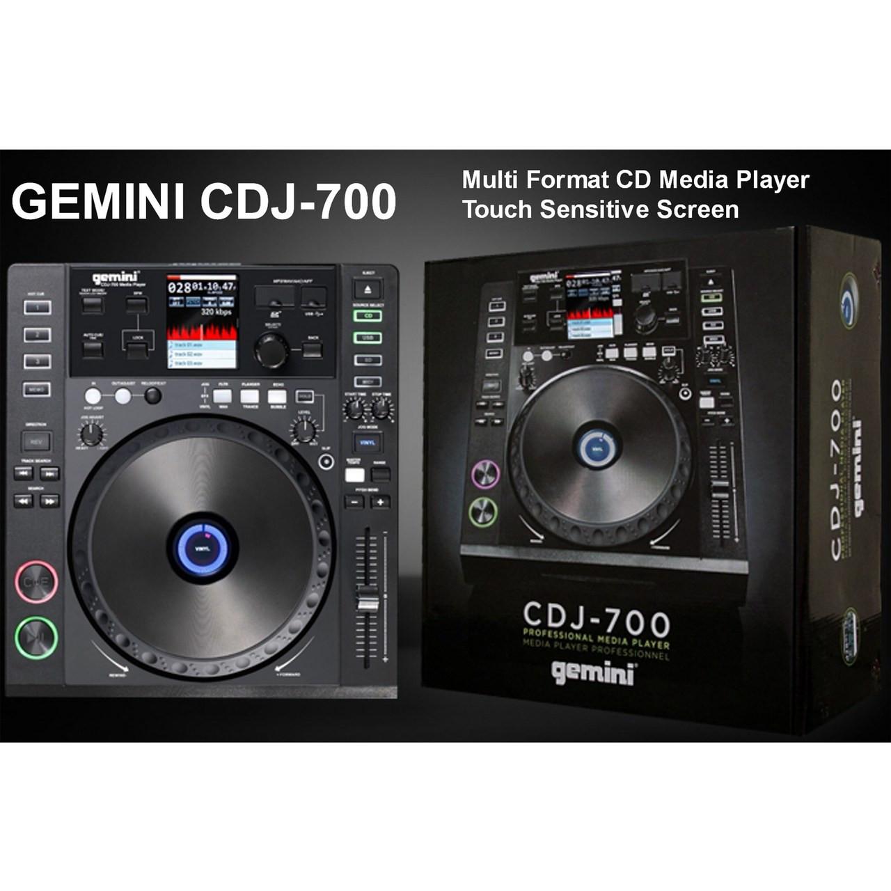 GEMINI CDJ-700 CD USB SD Media Console $20 Instant Coupon use Promo Code:  $20-OFF