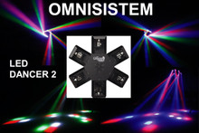 OMNISISTEM LED DANCER 2 (6) CREE LED Mirror Centerpiece