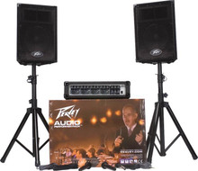 Peavey Audio Performer Pack complete pa system $10 Instant Coupon use Promo Code: app