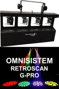 Omnisistem Retroscan G-Pro CREE LED Gobo Scanner $25 Instant Coupon Use Promo Code: $25-Off