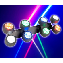 American DJ octo beam RGBw 8 aDJustable heads $10 Instant Coupon use Promo Code: $10-OFF