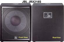 JBL JRX218S Passive Sub-Woofer Speaker
