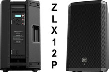 "EV ZLX12P 2000w Active 12"" PA Speaker System Pair"