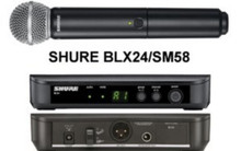 SHURE BLX24/SM58 Handheld Intuitive Interface Wireless Mic System $10 Instant Coupon Use Promo Code: $10-OFF