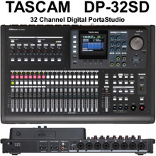 TASCAM DP-32SD PORTASTUDIO Digital Mixer