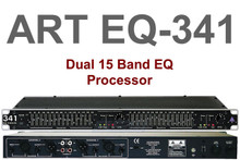 ART EQ341 1U Dual 15 Band Equalizer Processor