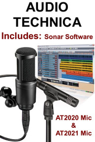 AUDIO TECHNICA AT2041SP Studio Mic Pack Includes Sonar Software $10 Instant Coupon Use Promo Code: AT2041SP