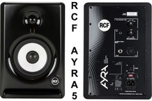RCF AYRA 5 Nearfield Reference Studio Computer Monitor Pair