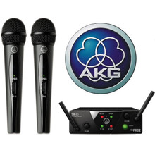 AKG WMS40 Mini2 Dual Mics with Dual Receiver $10 Instant Coupon use Promo Code: $10-OFF