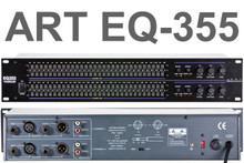 ART EQ355 2U Dual 31 Band Equalizer Processor