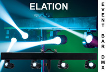 ELATION EVENT BAR DMX 4 Intelligent Mounted LED Lights $20 Instant Coupon Use Promo Code: $20-OFF