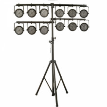 ON STAGE LS7720QIK 10.5' Quick-Connect U-Mount Heavy Duty 2 Tier Light Stand