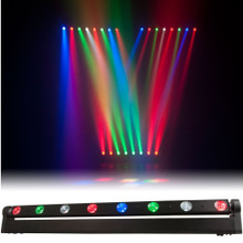 AMERICAN DJ SWEEPER QUAD BEAM LED 8 RGBW Moving Linear Spots $10 Instant Coupon use Promo Code: $10-OFF