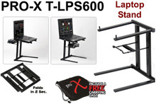 Pro-X t-lps600 portable collapsible laptop stand