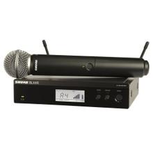 SHURE BLX24R/SM58 Handheld Rackmount Wireless Mic System