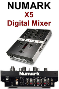 Numark x5 digital DJ mixer $10 Instant Coupon use Promo Code: x5