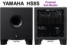 "YAMAHA HS8S Compact 8"" Active High Power 150w Studio Subwoofer $20 Instant Coupon Use Promo Code: $20-OFF"