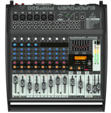 BEHRINGER PMP500 12 Channel 500w Powered Mixer $20 Instant Coupon Use Promo Code: $20-OFF