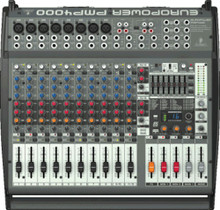 BEHRINGER PMP4000 16 Channel 1600w Powered Mixer