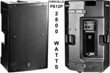 YORKVILLE PS12P Active 8800w Total Peak PA System Speaker Pair $100 Instant Coupon Use Promo Code: $100-OFF