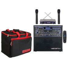 VOCOPRO GIGSTAR PRO II Compact Wireless Karaoke System with (2) Mics, Remote & Carry Bag $20 Instant Coupon use Promo Code: $20-OFF