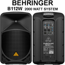BEHRINGER B112W 2000w Wireless Option PA Speaker System $30 Instant Coupon Use Promo Code: $30-OFF