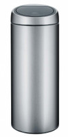Brabantia 30 Litre Touch Bin in Matt Steel