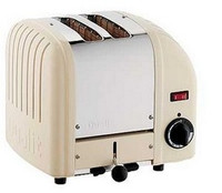 Dualit 2 Slot Toaster 20247 Utility Cream Finish