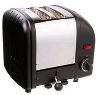 Dualit 2 Slot Toaster 20237 Black Finish