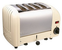 Dualit 4 Slot Toaster 40354 Utility Cream Finish
