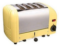 Dualit 4 Slot Toaster 47188 Canary Yellow Finish
