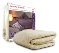 Morphy Richards 75311 Luxury Fleece Overblanket Double