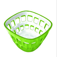Guzzini Vintage Two-tone bread basket in Green
