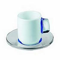 Guzzini InFusion Espresso Cup Gift Box of 6; Cobalt Blue