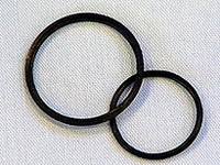 Tap Sealing Rings (Black, Pack 2)
