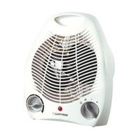 Lloytron F2001WH 2KW Upright Fan Heater