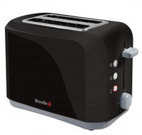 Breville VTT232 2 Slice Toaster in Black