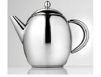 La Cafetiere Paris Teapot 1.0 lt In Stainless Steel