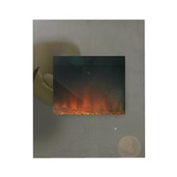 Adam Alexis Tinted Mirror Electric Fire