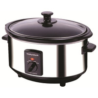 Morphy Richards 48710 Slow Cooker Oval 3.5Litre Stainless Steel