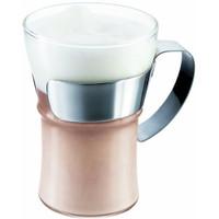 Bodum Assam Coffee Glass with Steel Handle