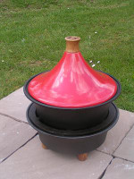 Netherton Foundry Cast Iron Garden BBQ & Tagine