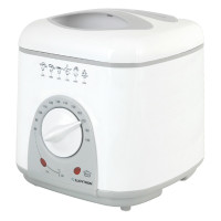 Lloytron E6010WH 1.0ltr Compact Deep Fryer in White