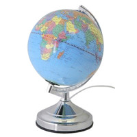 Lloytron Illuminated World Globe Touch Lamp