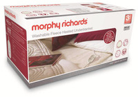 Morphy Richards 600004 King Dual Washable Fleece Heated Underblanket