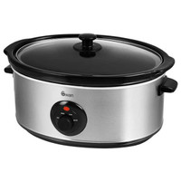 Swan SF17030N 6.5 Litre Stainless Steel Slow Cooker