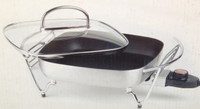 Prima Gourmet Multi Cooker / Electric Pan with Glass Lid