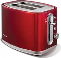 Morphy Richards 220004 Elipta Steel 2 Slice Toaster in Red